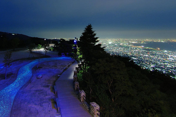 山から見る神戸絶景スポット