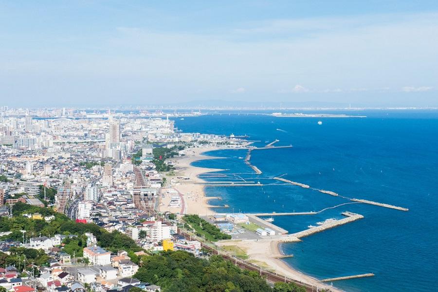 須磨海岸「潮干狩り2021」