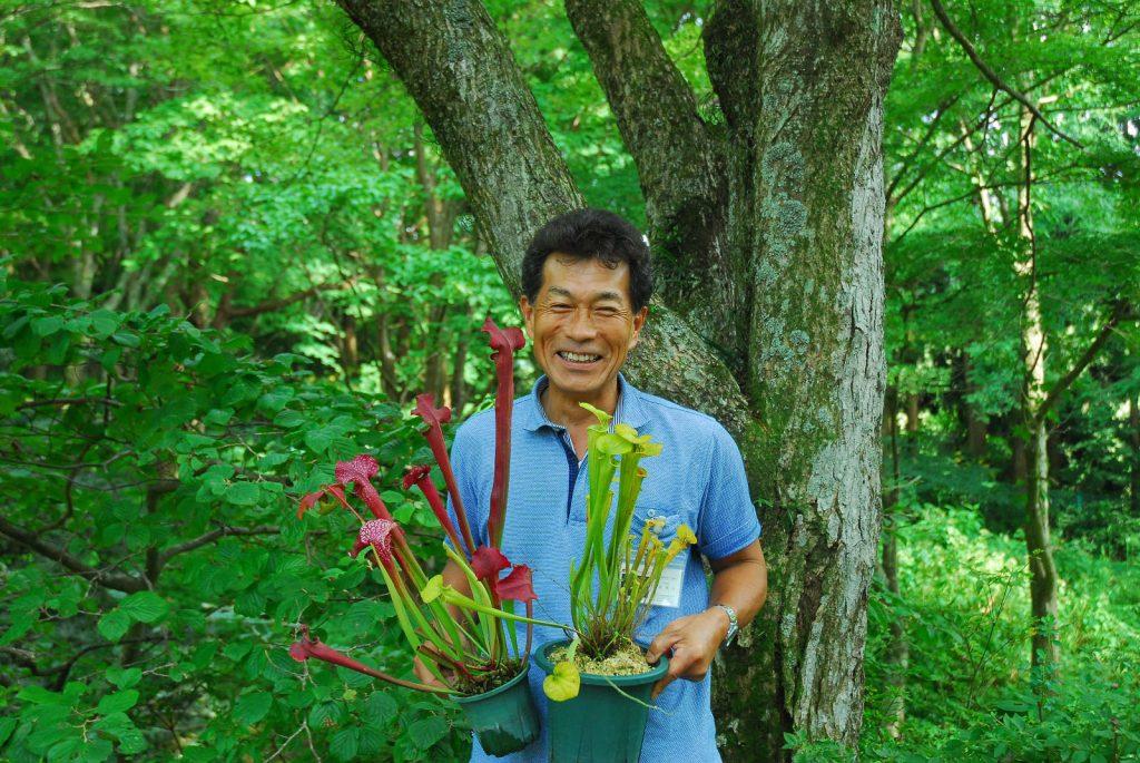 六甲高山植物園「食虫植物の寄せ植え体験」