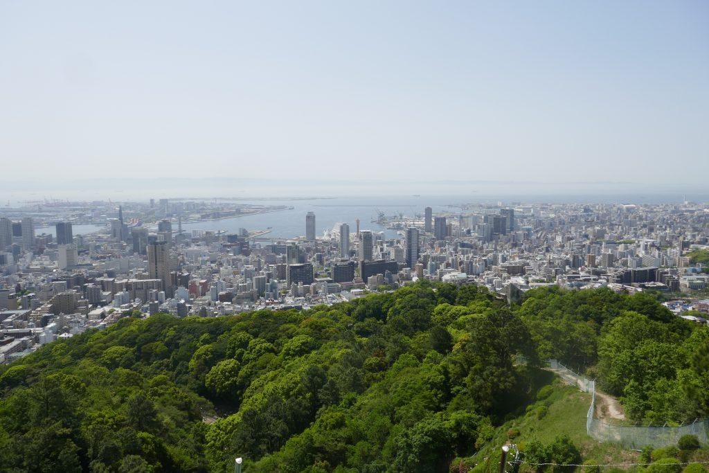 六甲軽登山と山のグルメ 神戸観光の新たな提案