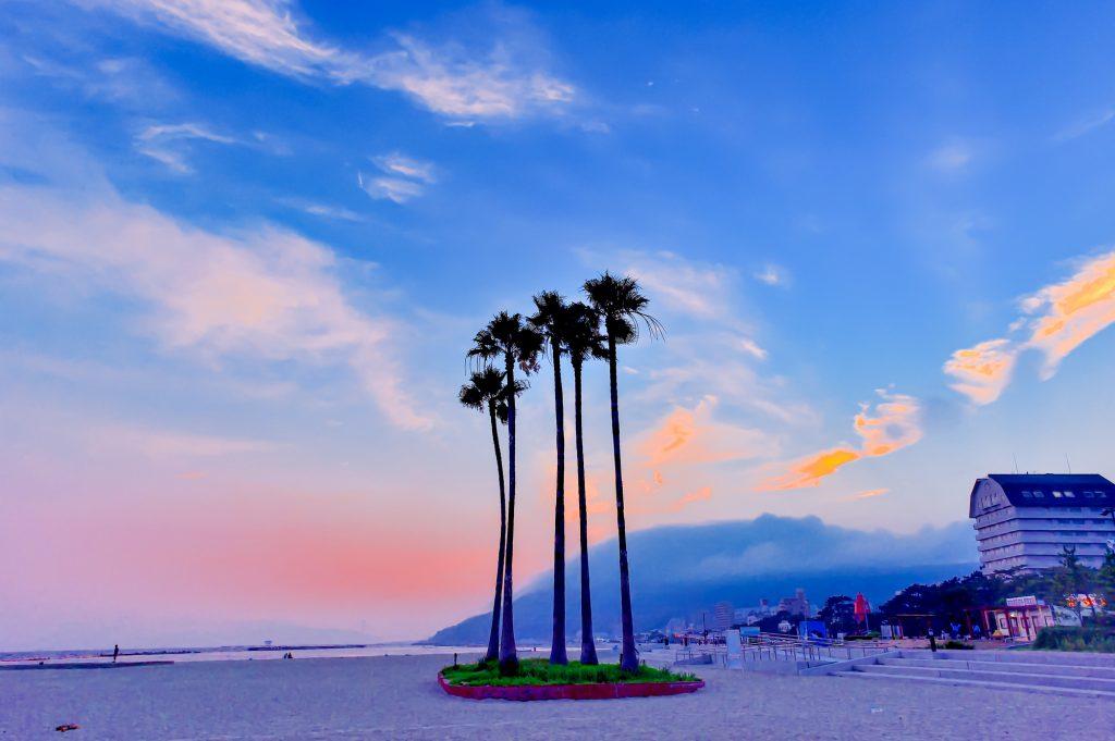 【神戸で海外旅行】神戸のビーチリゾート⁉「須磨海岸」で西海岸気分を満喫!
